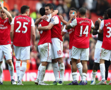 View From The North Bank: Arsenal 5 Sp*rs 2