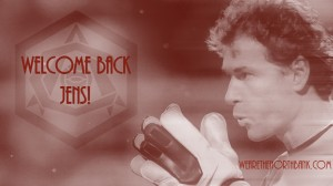 Welcome Back Jens Wallpaper ii Red