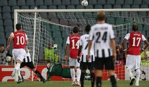 Szczesny Penalty Save Udinese