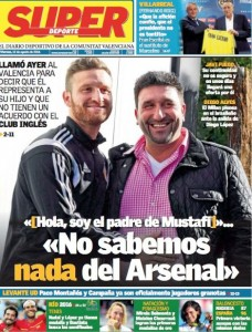 super deporte mustafi arsenal