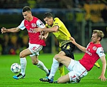 View From The North Bank: Dortmund 1 Arsenal 1